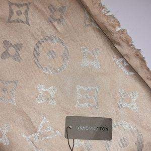 LOUIS VUITTON silk shawl